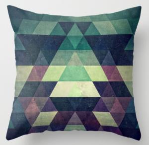 Подарок Интерьерная подушка 'Symmetry'