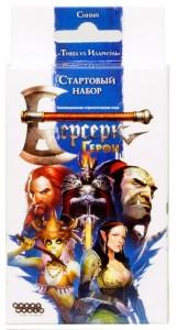 Настольная игра 'Берсерк. Герои. Стартовый набор:Синий (Тиша vs. Илариэль)'