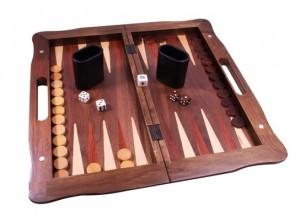 фото Набор из 3 игр: шахматы, нарды, шашки (орех) (AF1601-05) #2
