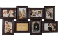 Подарок Мультирамка для фото Angel Gifts 8 в 1 (BIN-112183) коричневая