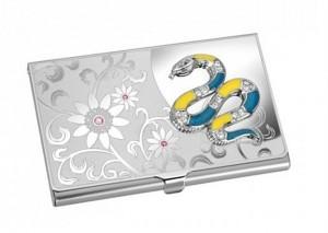 Подарок Визитница Jardin D'ete 'Змейка' (55-7447A)