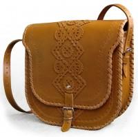 Подарок Женская сумка 'Ярославна' из натуральной кожи
