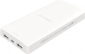 Внешний аккумулятор Silicon Power S102 - 12000 mAh White (SP12KMAPBK102P5W)