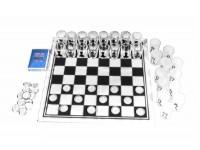 Набор из 3 игр: шахматы, шашки, карты (CDJ03-3)