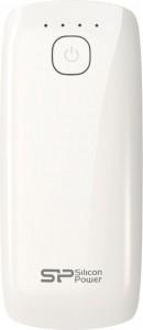 Внешний аккумулятор Silicon Power P51 - 5200 mAh White (SP5K2MAPBKP51C1W)