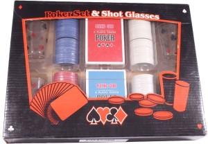 фото Набор для игры в пьяный покер, 200 фишек, 4 рюмки (PG42200) #3
