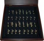 фото Шахматы 'Греко-Римская война' в деревянном футляре коричневые (S3BRO) #2