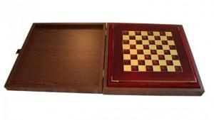 фото Шахматы 'Лучники' в деревянном футляре красные (S15RED) #3