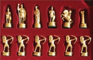 фото Шахматы 'Лучники' в деревянном футляре красные (S15RED) #4