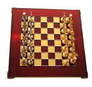 фото Шахматы 'Лучники' в деревянном футляре красные (S15RED) #2