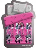 Постельное белье Monster High, полуторное, дизайн Куклы