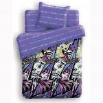 Постельное белье Monster High, полуторное, дизайн Молнии