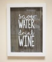 Подарок Копилка Для Винных Пробок 'Save Water'