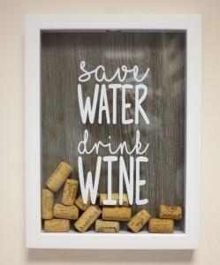 фото Копилка Для Винных Пробок 'Save Water' #2