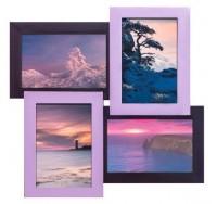 Подарок Дизайнерская фоторамка Фиолетовая