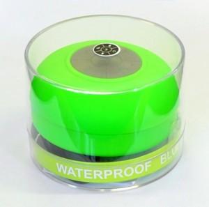 Подарок Водонепроницаемая Bluetooth колонка для душа (салатовая)