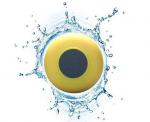 Подарок Водонепроницаемая Bluetooth колонка для душа (желтая)