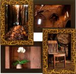 Подарок Мультирамка для фото 'Золотой Шоколад'
