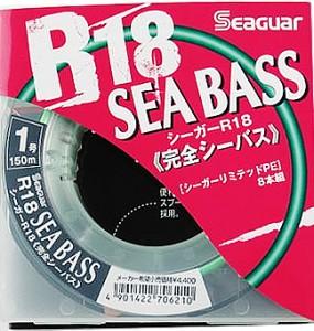 Шнур Seaguar R18 Sea Bass 150m PE1.0