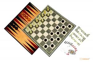 фото Классические игры Набор из 6-ти игр Делюкс Merchant Ambassador (ST039) #2