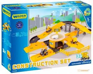3D - набор 'Стройка' Wader 'Kid Cars' (53340)