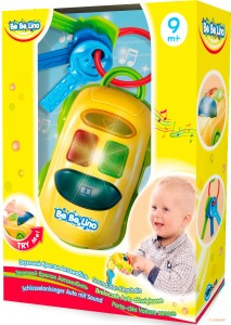 Звуковой брелок 'Автомобиль с ключиками' BeBeLino (57097)