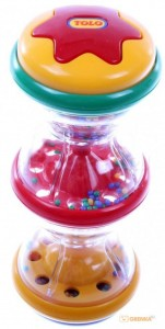 Погремушка развивающая с разноцветными шариками Tolo (86440)