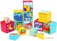 Развивающие кубики-сортеры Redbox (25592)