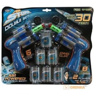 Игровой набор 'Пневмобластеры Shotz' (2 бластера, 6 мишеней) (AS974)