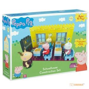 Конструктор Peppa 'Идем в школу' (4 фигурки 37 деталей)