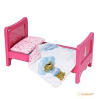 Интерактивная кроватка Zapf для куклы Baby Born 'Радужные сны' (звук)
