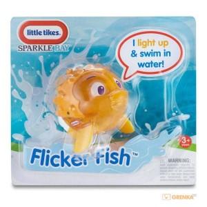 Интерактивная игрушка 'Мерцающие рыбки. Рыба-еж'