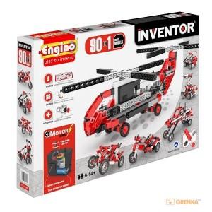 Конструктор 'Inventor Motorized' 90 в 1 (с электродвигателем)