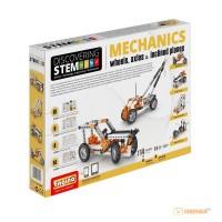 Конструктор STEM 'Механика' (колеса, оси и наклонные плоскости)