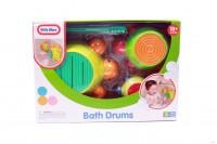 Игровой набор 'Черепашки-барабанчики' (для игры в ванной)