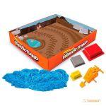 фото Набор для творчества 'Wacky-Tivities' Kinetic Sand Construction Zone (голубой, формочки, 283 г.) #4
