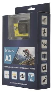 фото Экшн-камера Bravis A3 Yellow (BRAVISA3y) #10