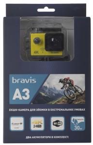 фото Экшн-камера Bravis A3 Yellow (BRAVISA3y) #11