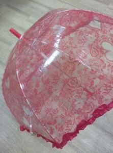 фото Детский зонт грибком RST 70 см (красный) #2