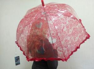 фото Детский зонт грибком RST 70 см (красный) #3