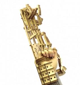 фото Механический 3D пазл Wood Trick 'Рука' (1234-8) #2