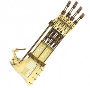 Механический 3D пазл Wood Trick 'Рука' (1234-8)
