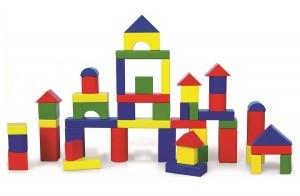 Набор строительных блоков 50 шт. (59542)