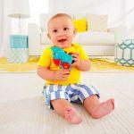 фото Развивающая игрушка Fisher-Price 'Слоненок с шариками' (BGX29-3) #2