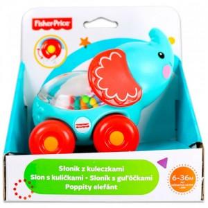 Развивающая игрушка Fisher-Price 'Слоненок с шариками' (BGX29-3)