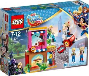 Конструктор LEGO DC Super Hero Girls 'Харли Квинн спешит на помощь' (41231)