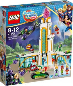 Конструктор LEGO DC Super Hero Girls 'Школа супергероев' (41232)