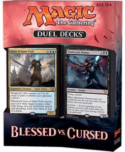 Настольная игра Magic the Gathering 'Duel Decks: Blessed vs. Cursed'