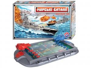 Настольная игра ТехноК 'Морские баталии' (1110)