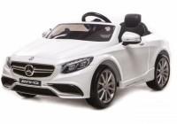 Электромобиль T-799 Mercedes S63 AMG WHITE легковой на р. у.